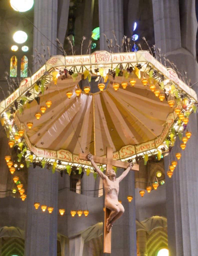 Barcelona Sagrada Familia Jesus-2