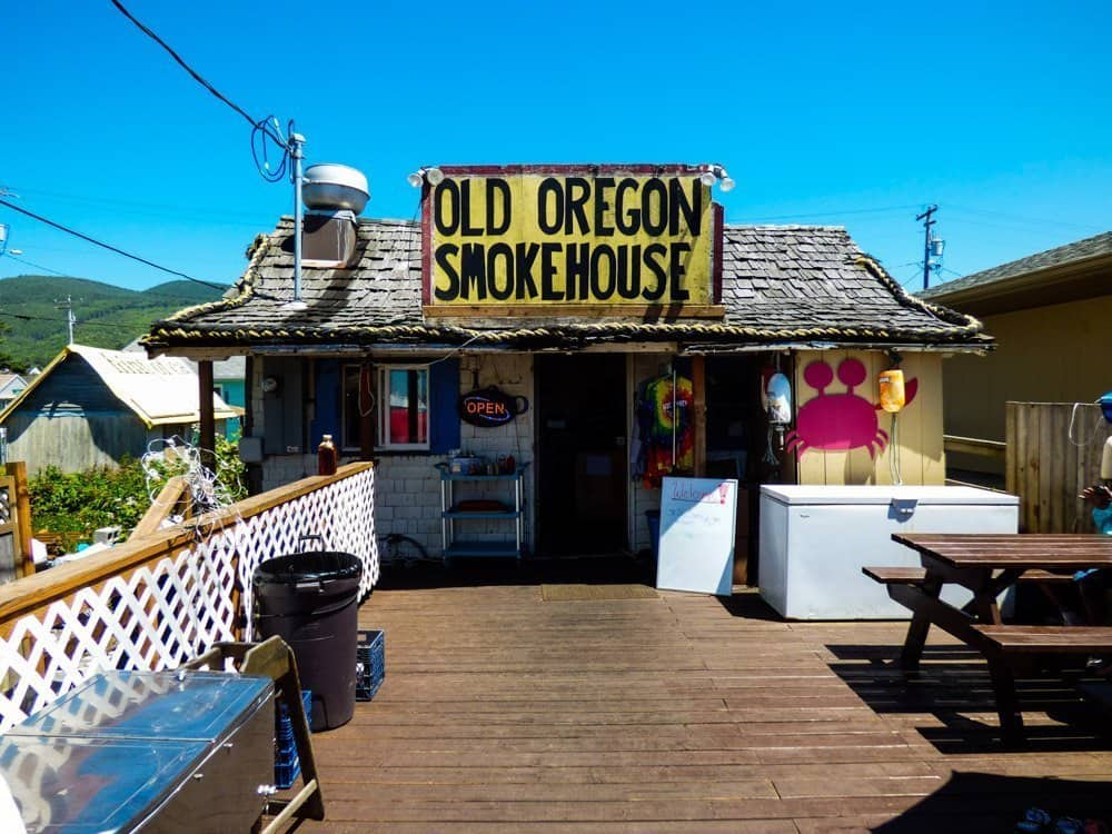 Old Oregon Smokehouse Coastal towns in Oregon