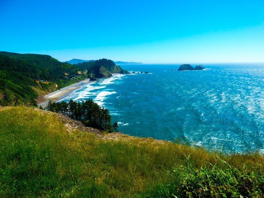 Coastal towns of Oregon