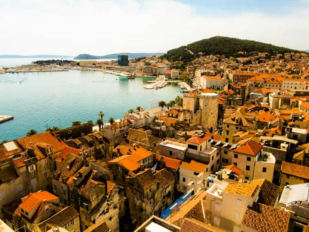 Split vs Dubrovnik Croatia