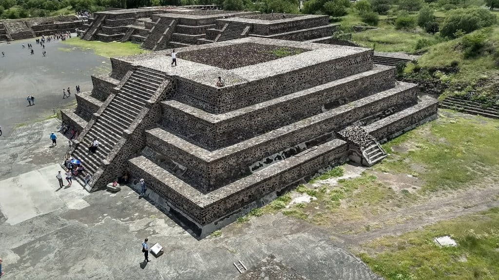 Pyramids of Teotihuacan Mexico