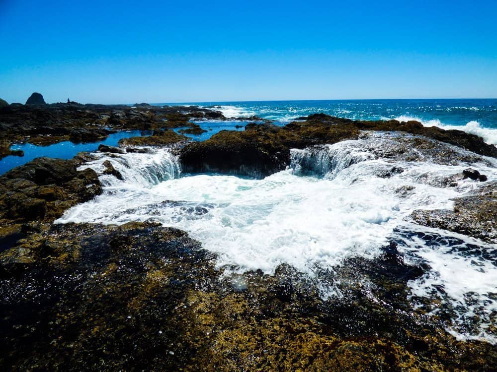Thor's Well, Coastal twns in Oregon