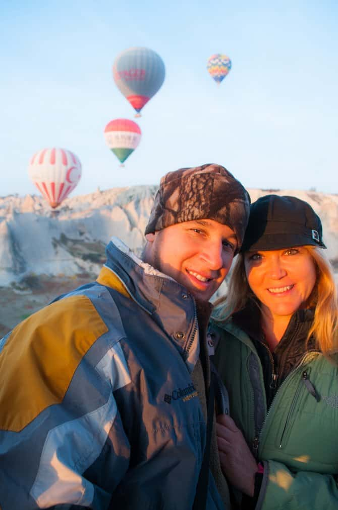 Cappadocia Turkey Best Adventure travel destinations in Europe