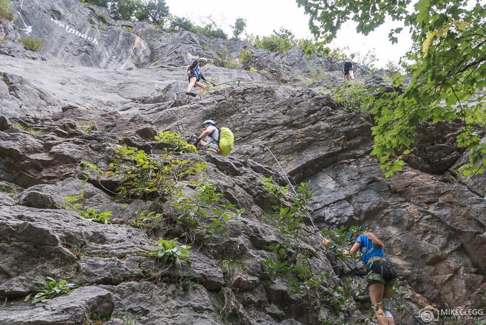 Via Ferrata in Saalachtal Best adventure travel destinations in europe