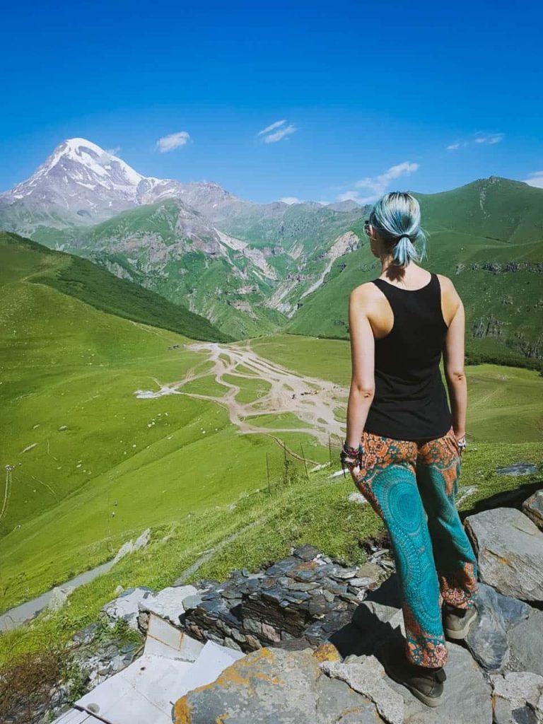 kazbezi Georgia Best adventure travel destinations Europe