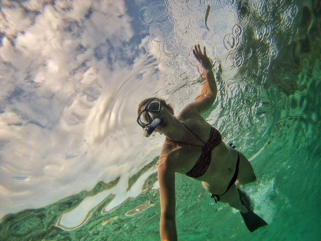 Snorekeling in Bali