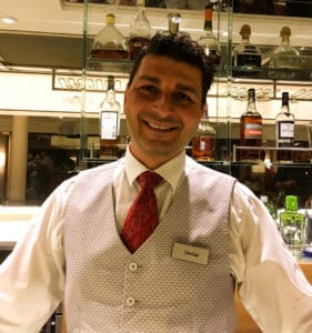 Viking River Cruise Egil Bartender