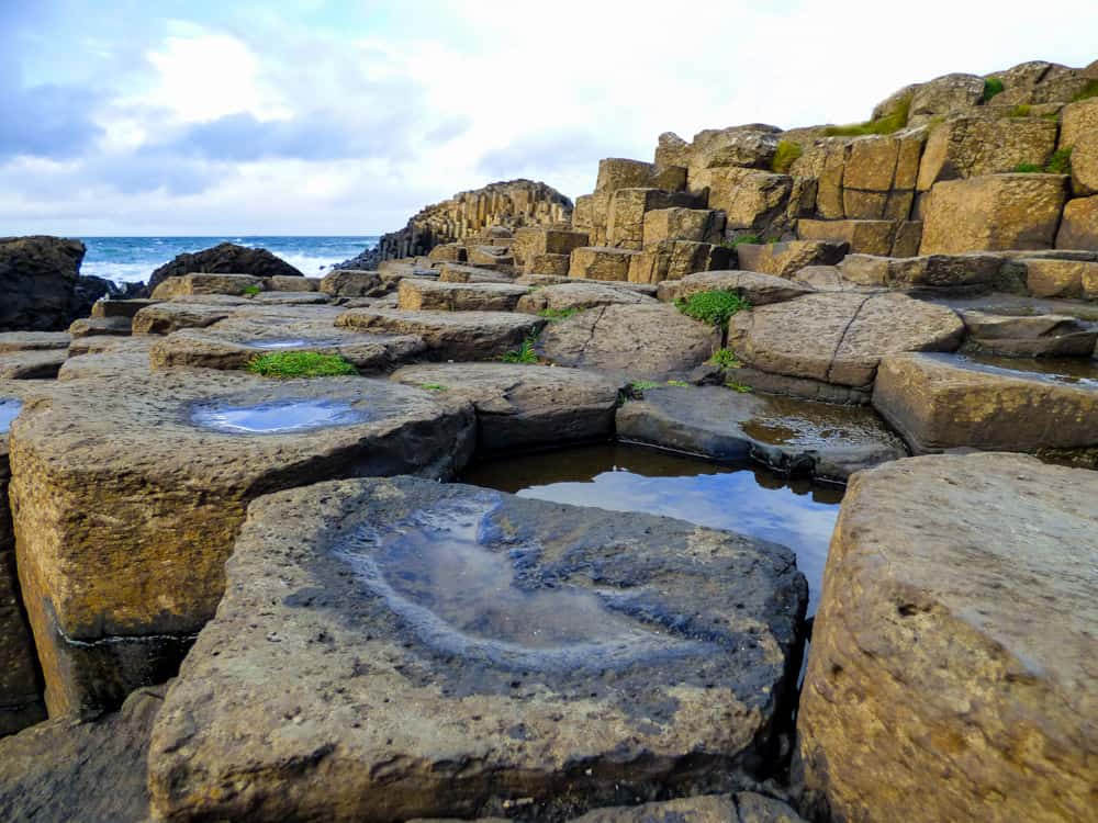 Massive stones at Giant's Causeway is a must-see on a Northern Ireland road trip