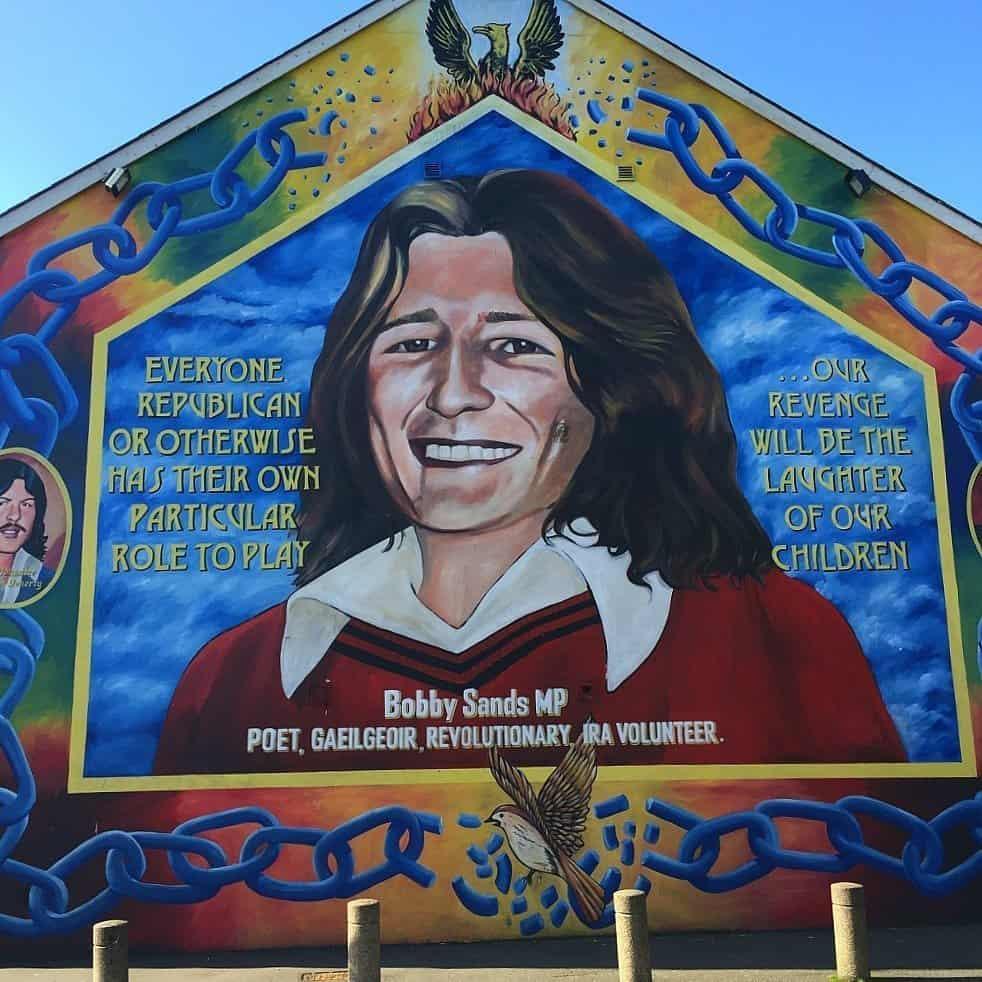 bobby mural Belfast