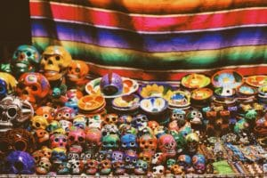 Mexican crafts at Rio Cuale Market Puerto Vallarta