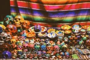 Mexican crafts at Rio Cuale Market Puerto Vallarta