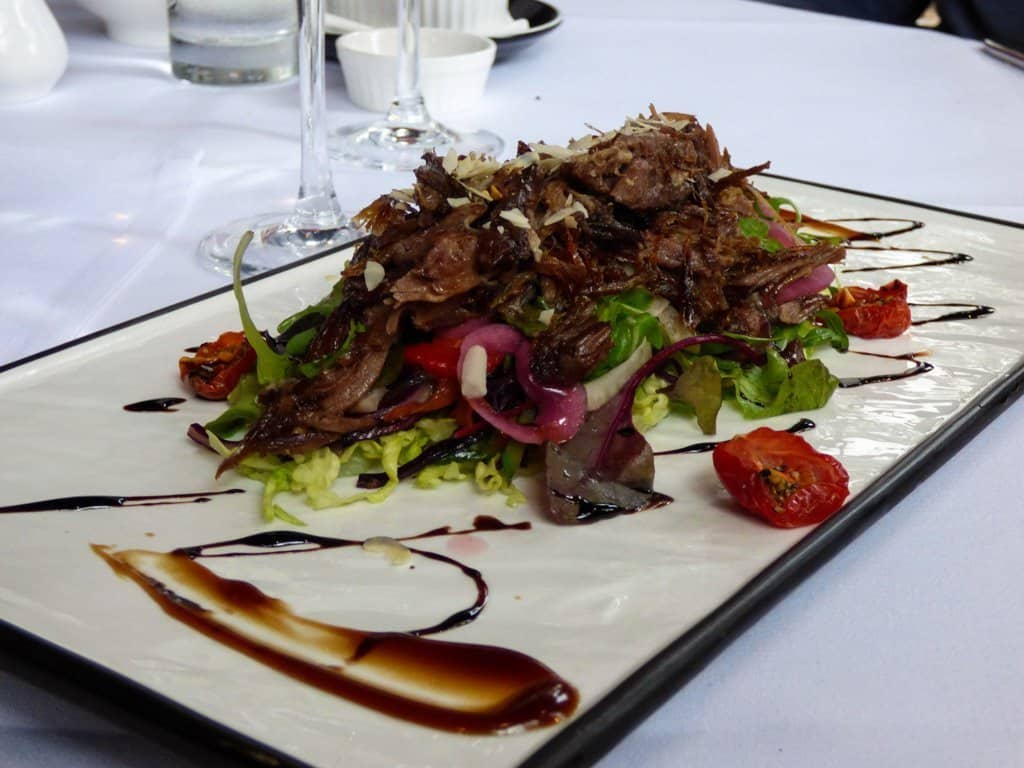 Plate of Dalkey Duck salad