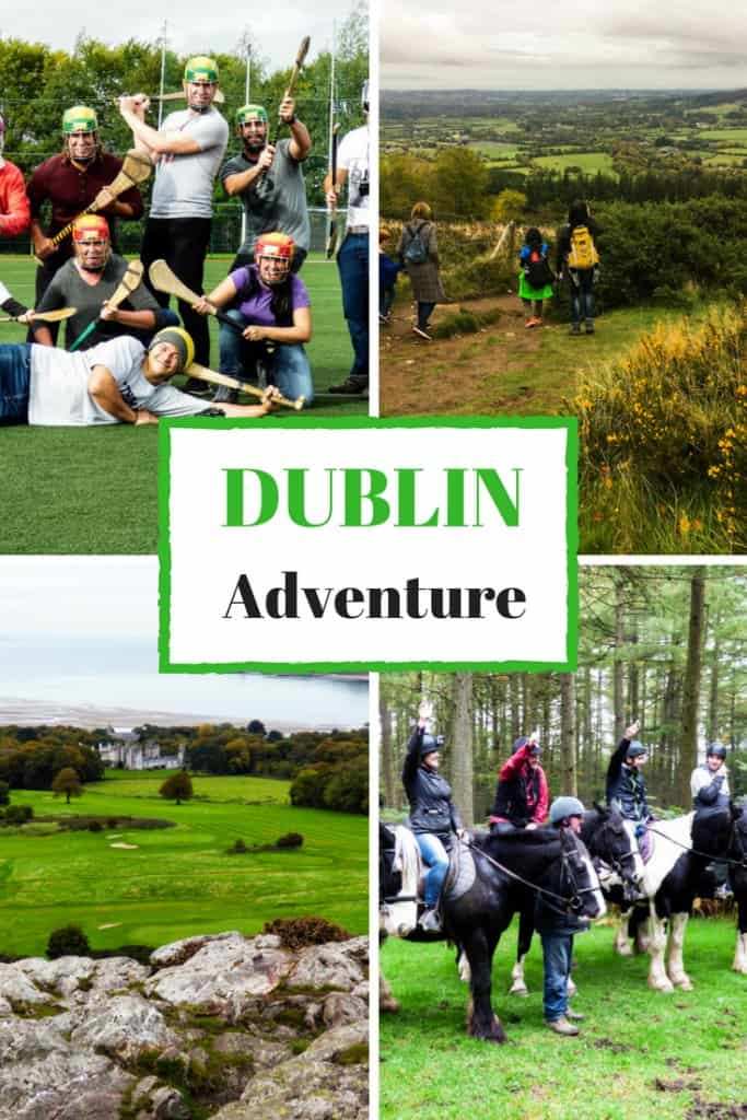 Hurling, horse riding, hiking, and cycling. Adventure Day Trips from Dublin