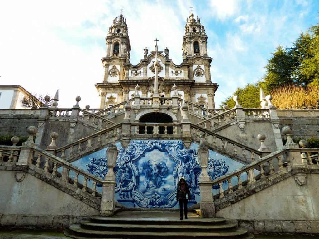 Lamego chapel Portugal