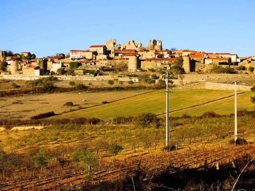 View of Castelo Rodrigo Portugal