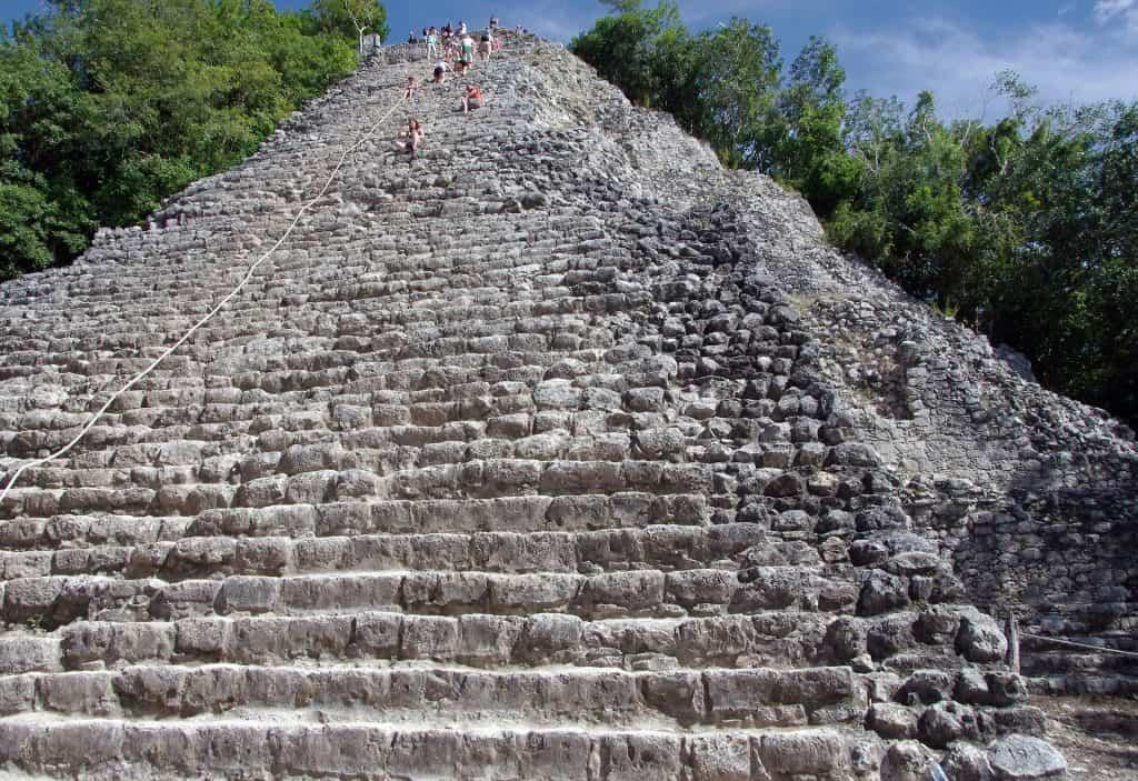 Coba Maya ruins Mexico