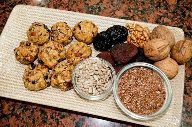 Protein balls to maintain a healthy lifestyle