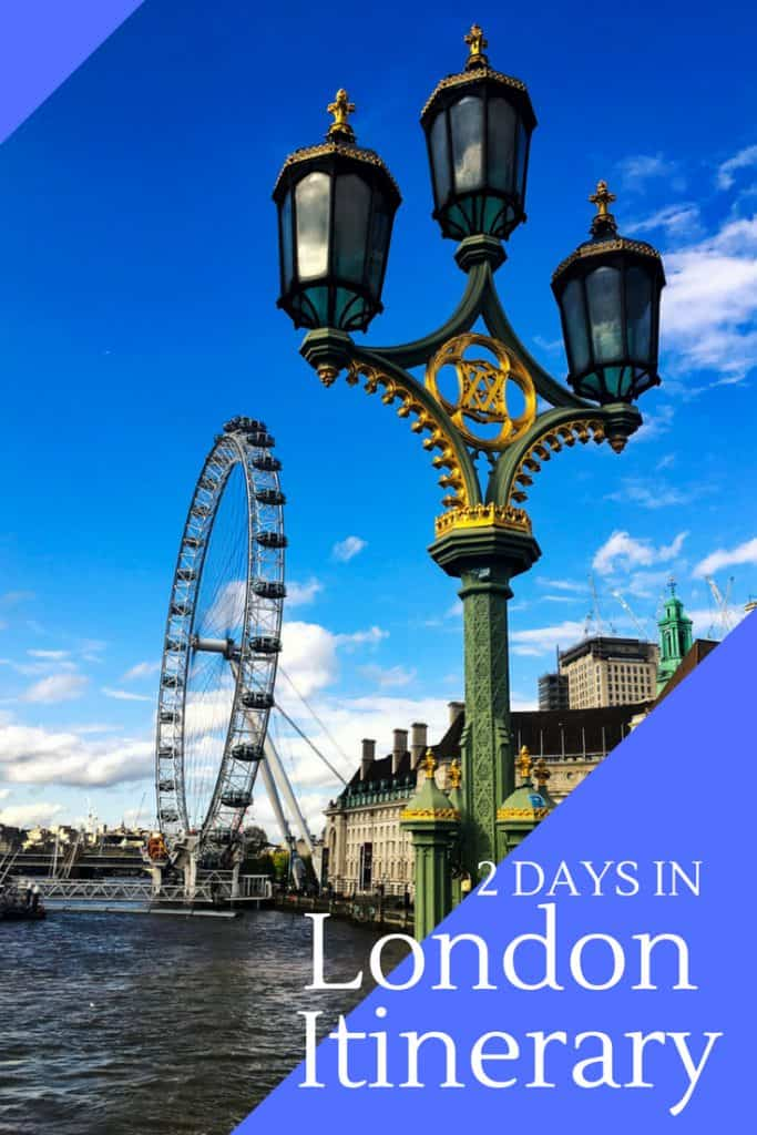 2 Day in London Itinerary
