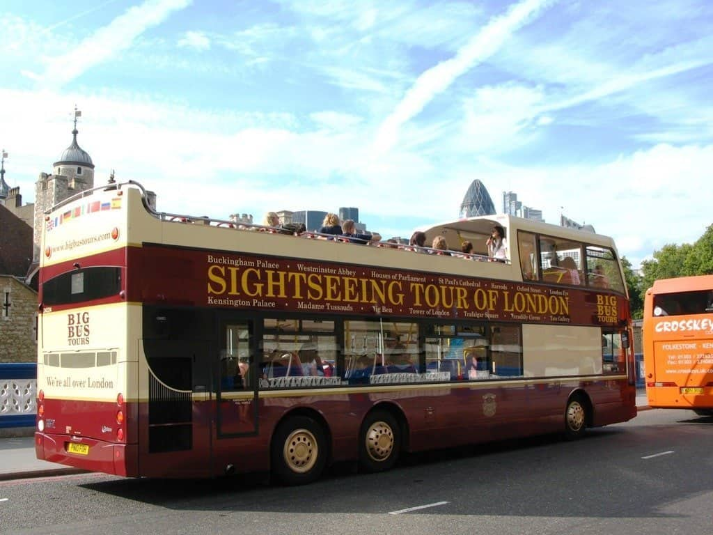 Big Bus Tour London itinerary