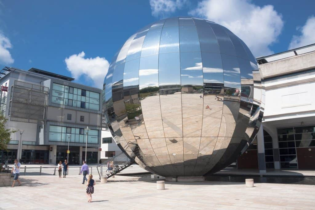 Weekend in Bristol: We the Curious globe