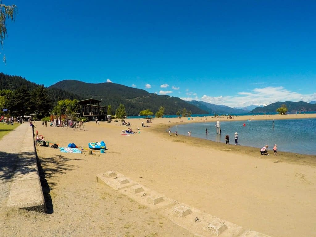 Harrison Hot Springs Beach