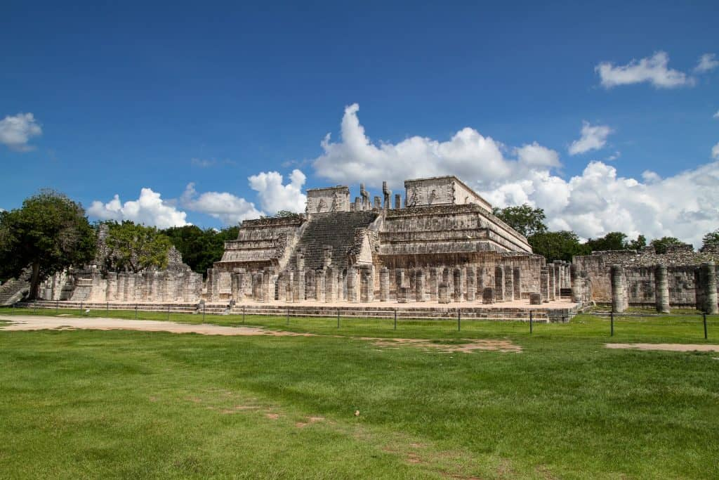 Chichen Itza ruins in the Yucatan Mexico