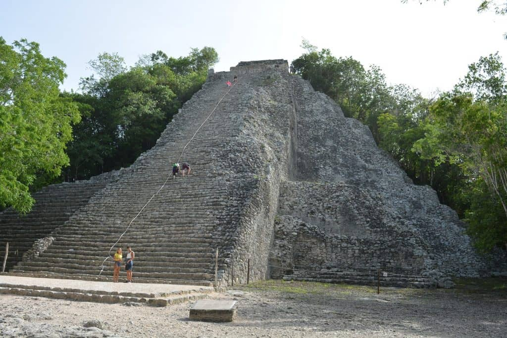 Coba Ek Balam Chichen Itza ruins in the Yucatan Mexico