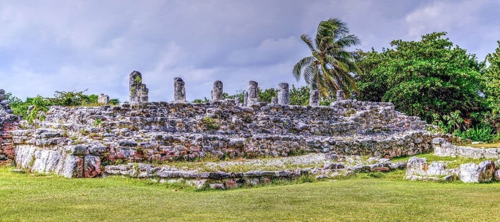 El Rey ruins Yucatan, Mexico