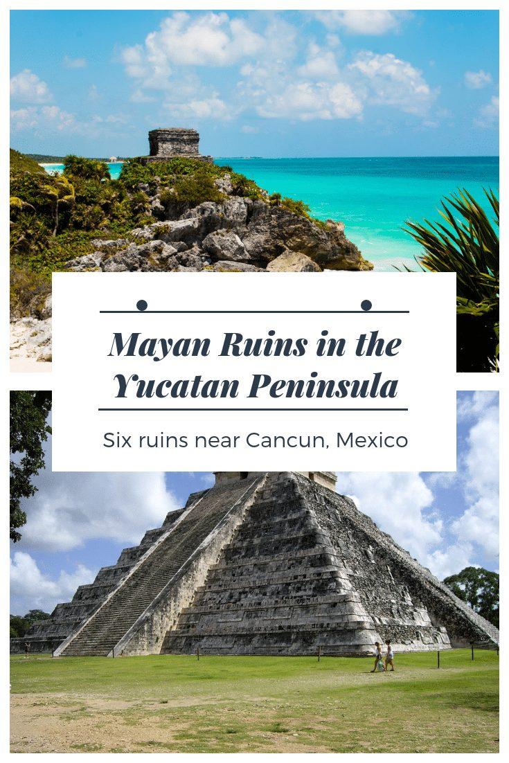 Mayan ruins in the Yucatan