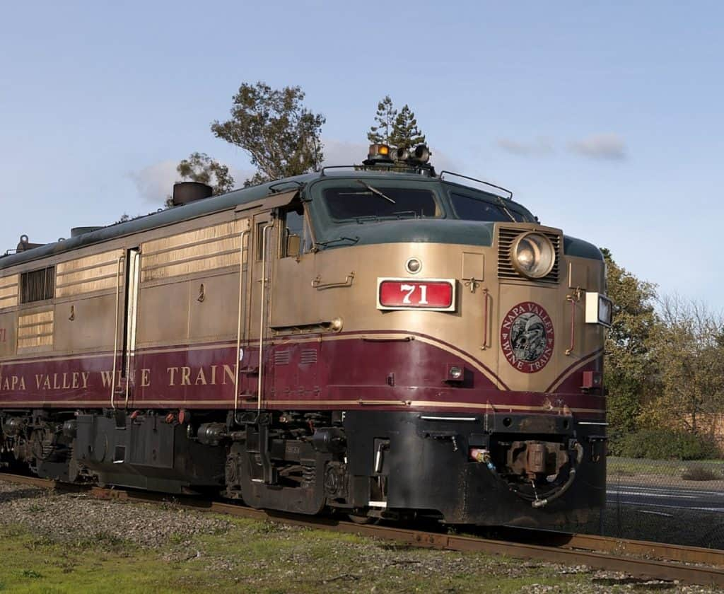 Weekend in Napa Valley Wine Train