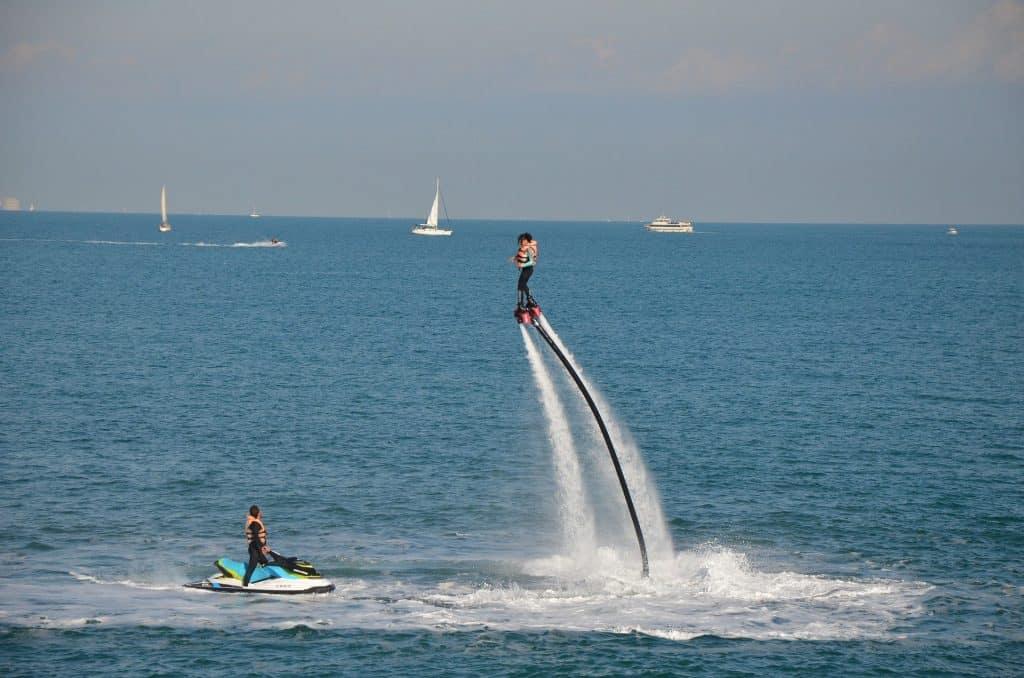 Flyboarding Cancun water activities