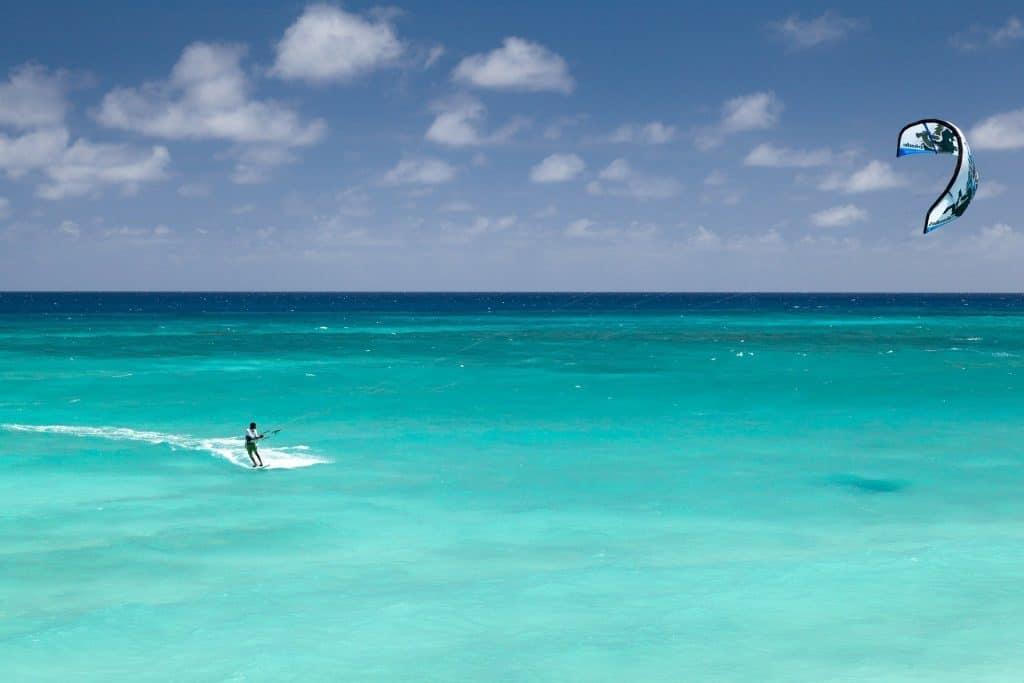 Kiteboarding Cancun water sports
