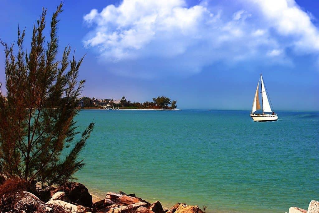 Sailboat in Cancun