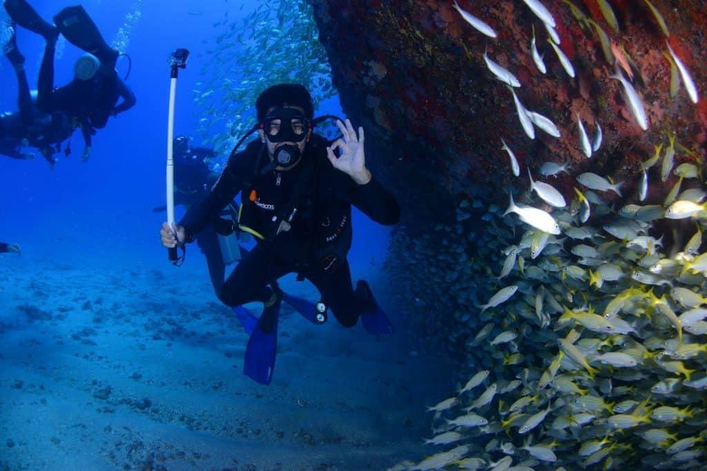 scuba diving Cancun water activities