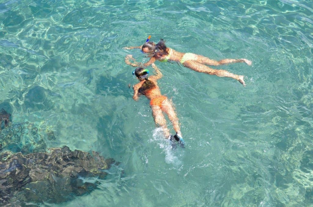 snorkeling Cancun water activities