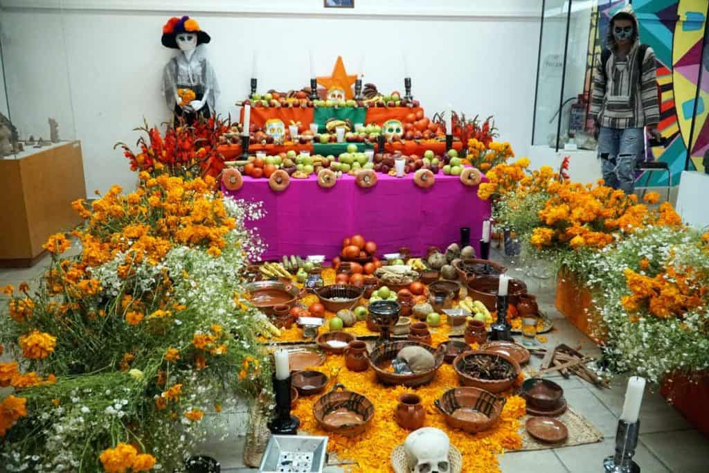 Day of the Dead offerings in Mexico
