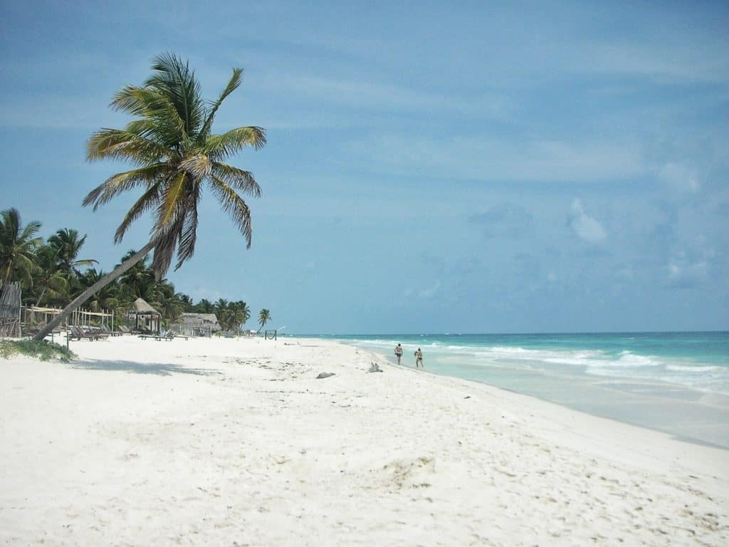 Reasons to visit Mexico: Tulum beach