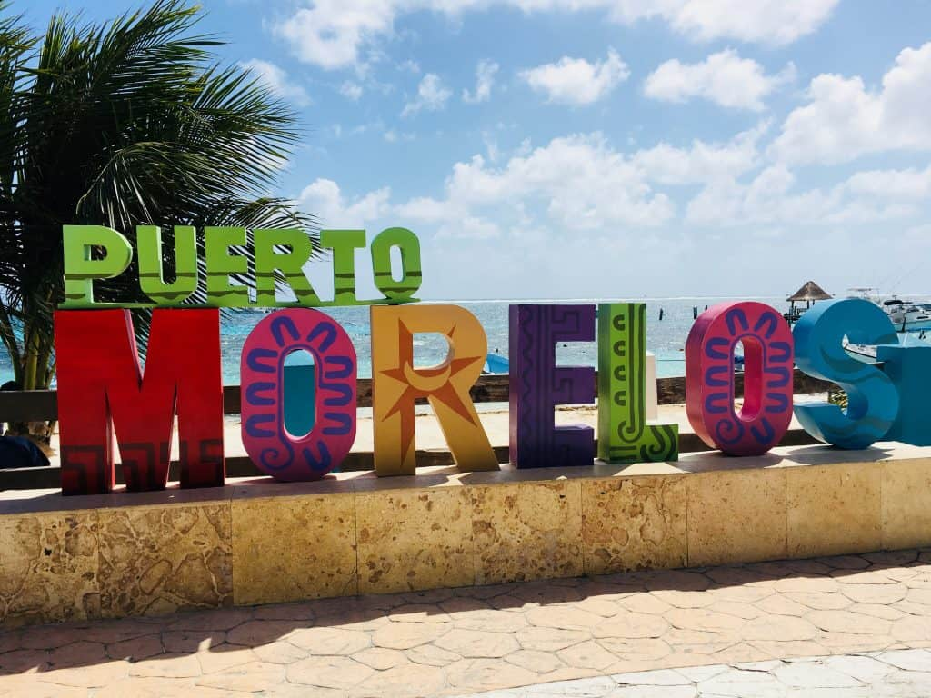 Places to visit in Mexico: Puerto Morelos