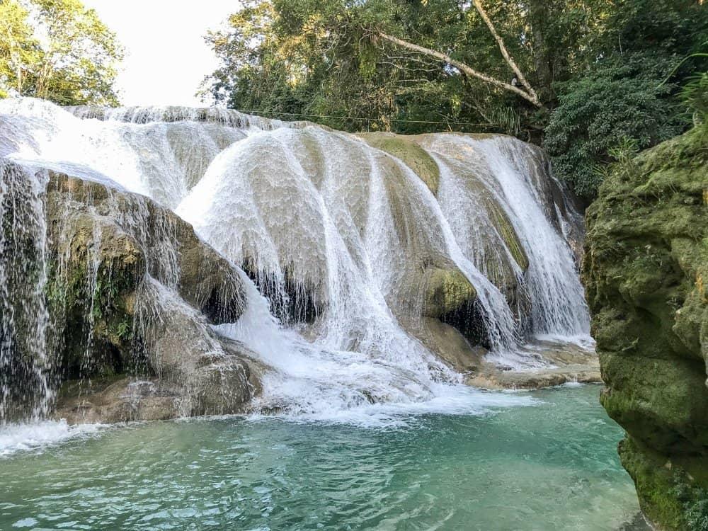 Cascadas Roberto Barrios Palenque Waterfalls
