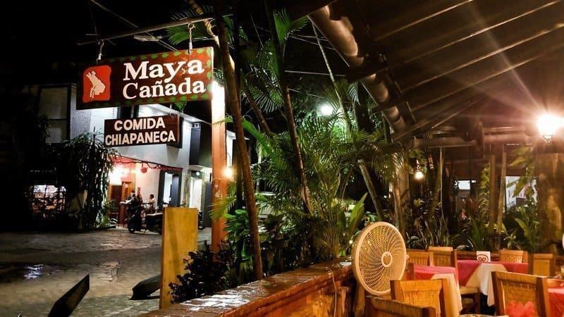 Restaurant Maya Cañada Palenque