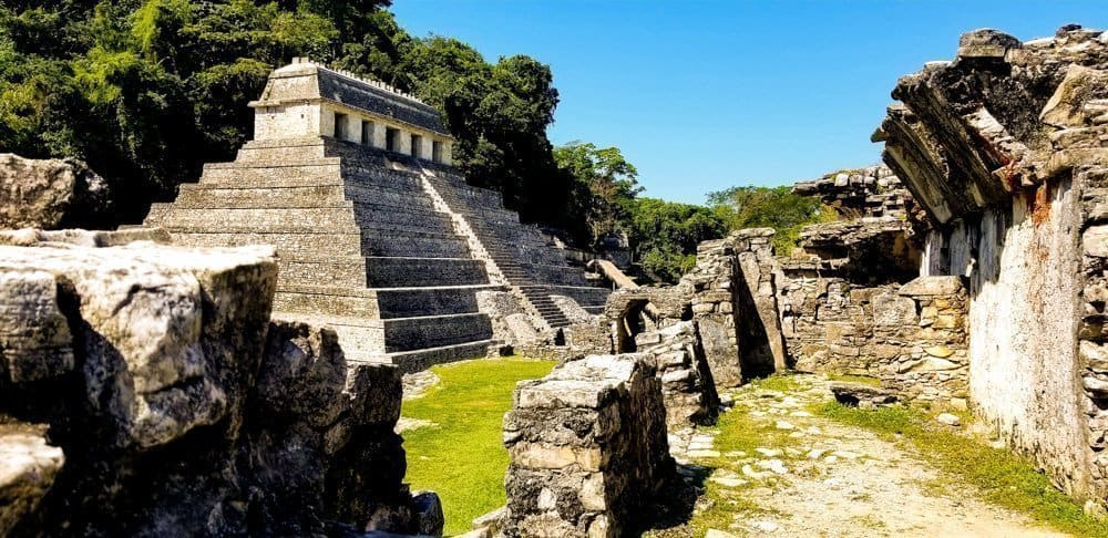 Temple of Inscriptions Palenque ruins