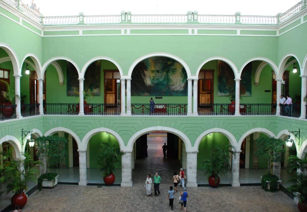 Things to do in Merida: Palacio Gobierno
