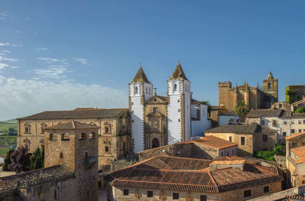 Old town of Caceras, Extremaduras Spain