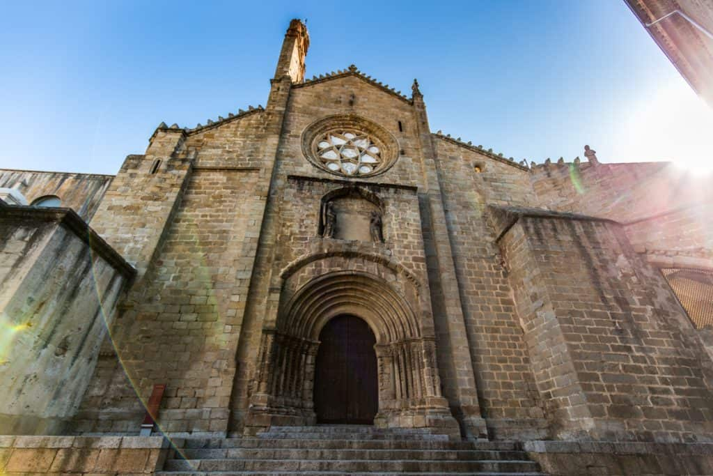 Extremadura Spain: Plasencia Old Cathedral