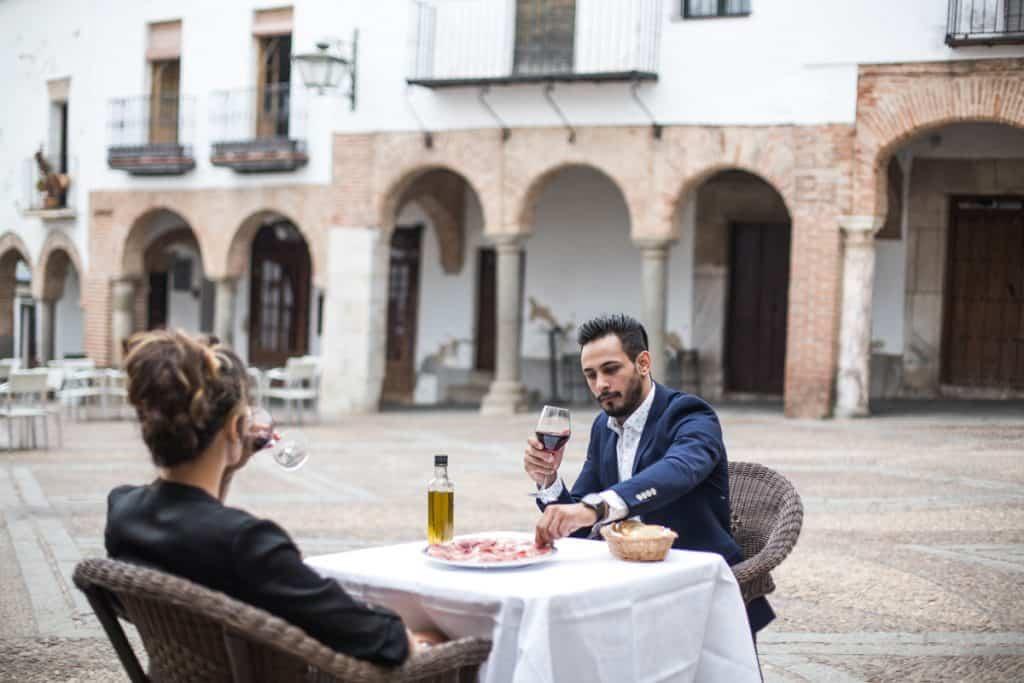 Zafra (Plaza Chica) Extremadura Spain
