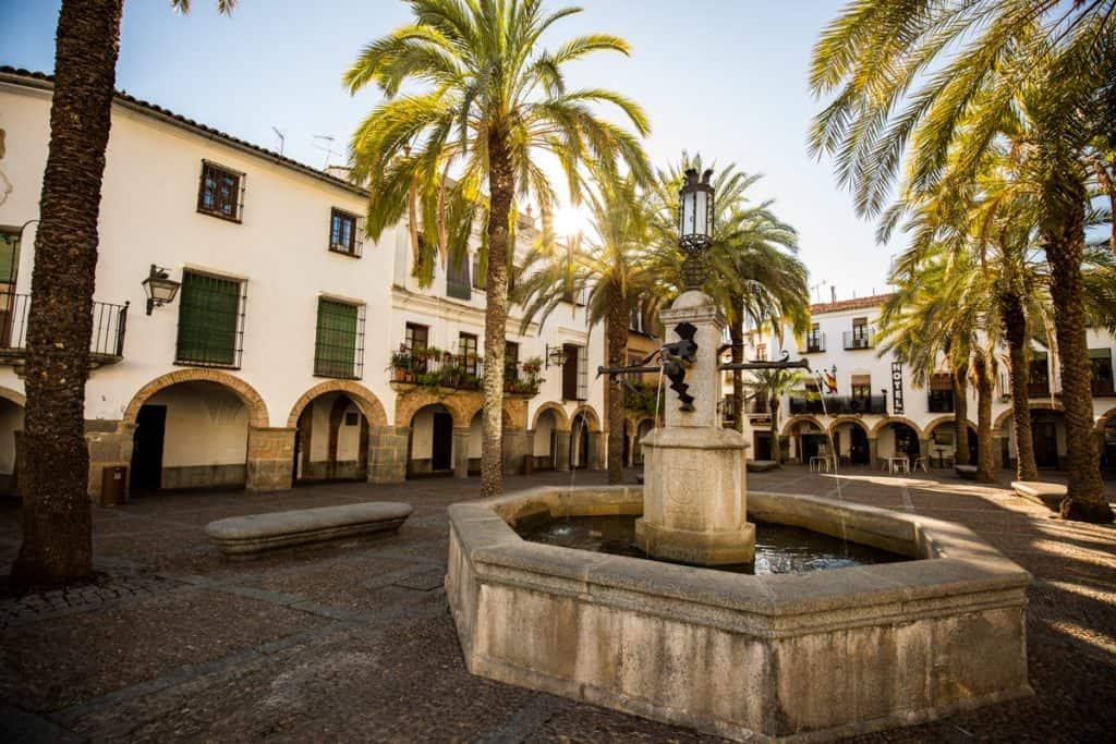 Extremadura Spain: Zafra (Plaza Grande)