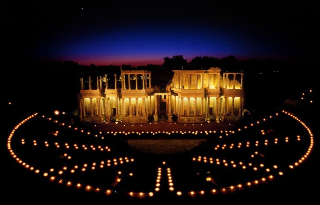 Extremadura Spain: Mérida Roman Theatre