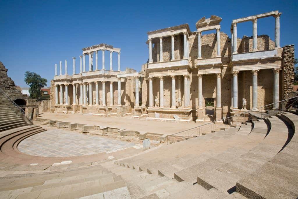 Mérida (Roman Theatre) Extremadura Spain