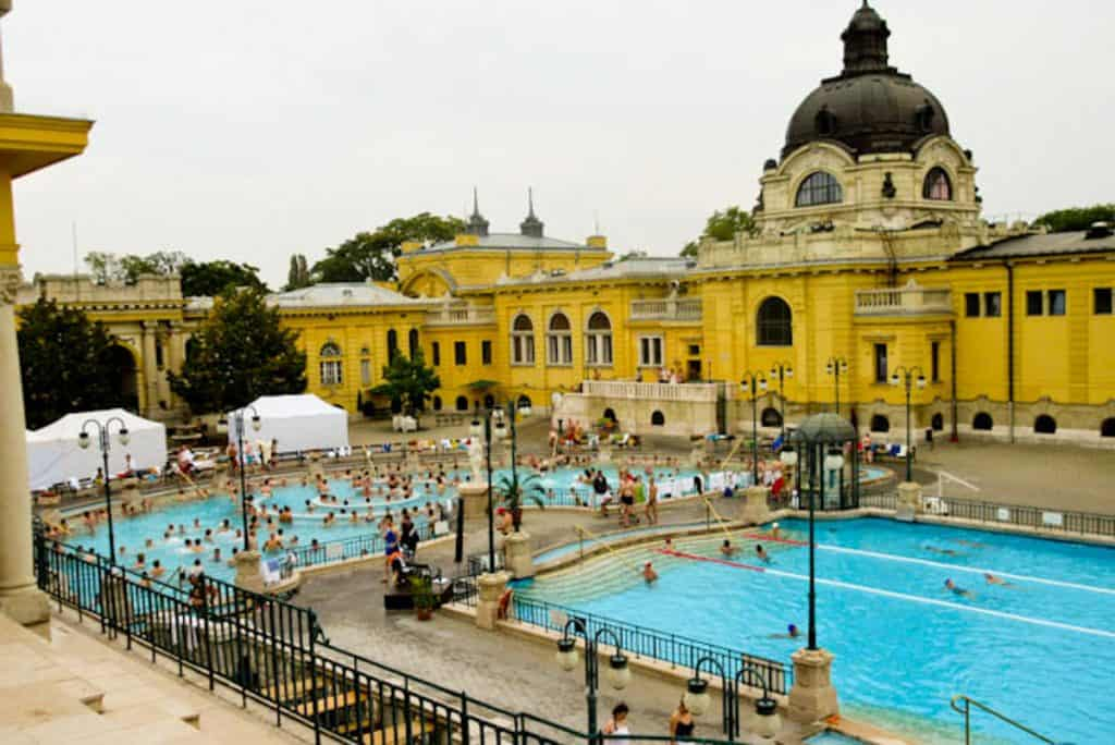 Things to do in Budapest: Szchenyi Baths