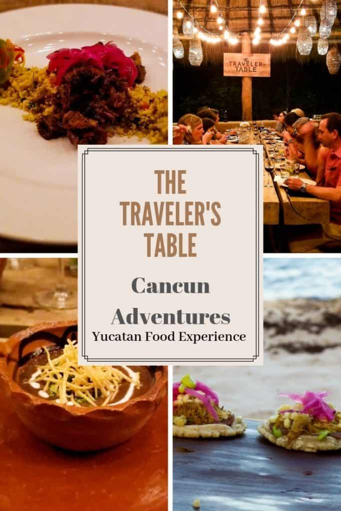 The Traveler's Table Yucatan Food Experience